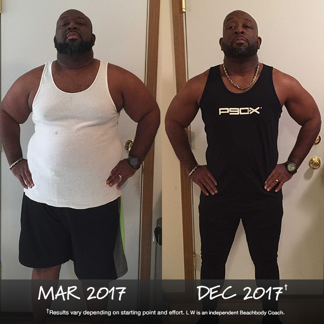 L W Bolton III Lost 100 Pounds