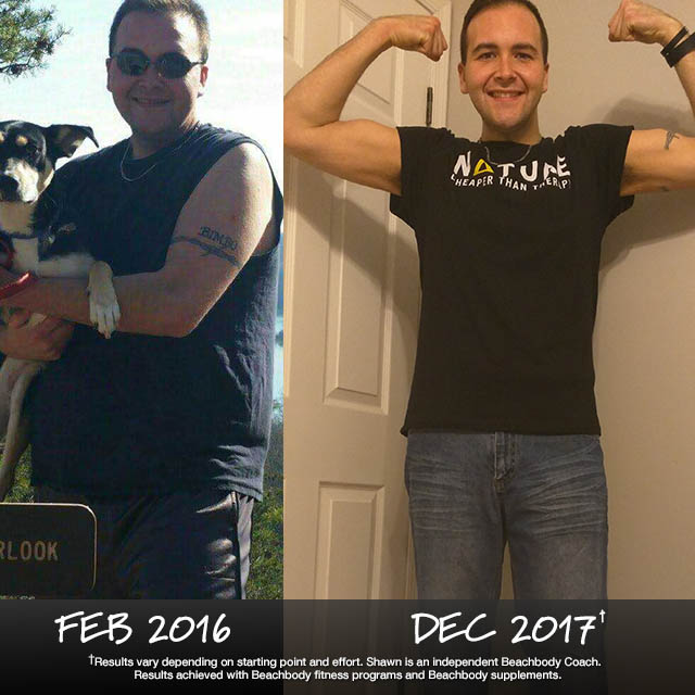 Shawn Robertson Lost 108 Pounds