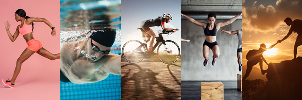running swimming cycling jumping hiking | cardio exercises