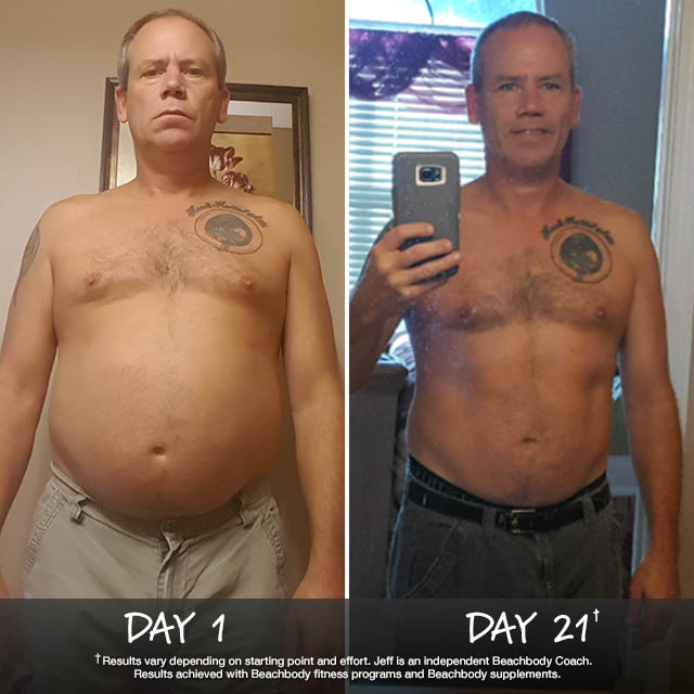 Jeff Sims Lost 13.4 Pounds