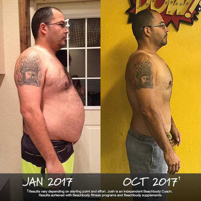 Josh Kingery Lost 84 Pounds
