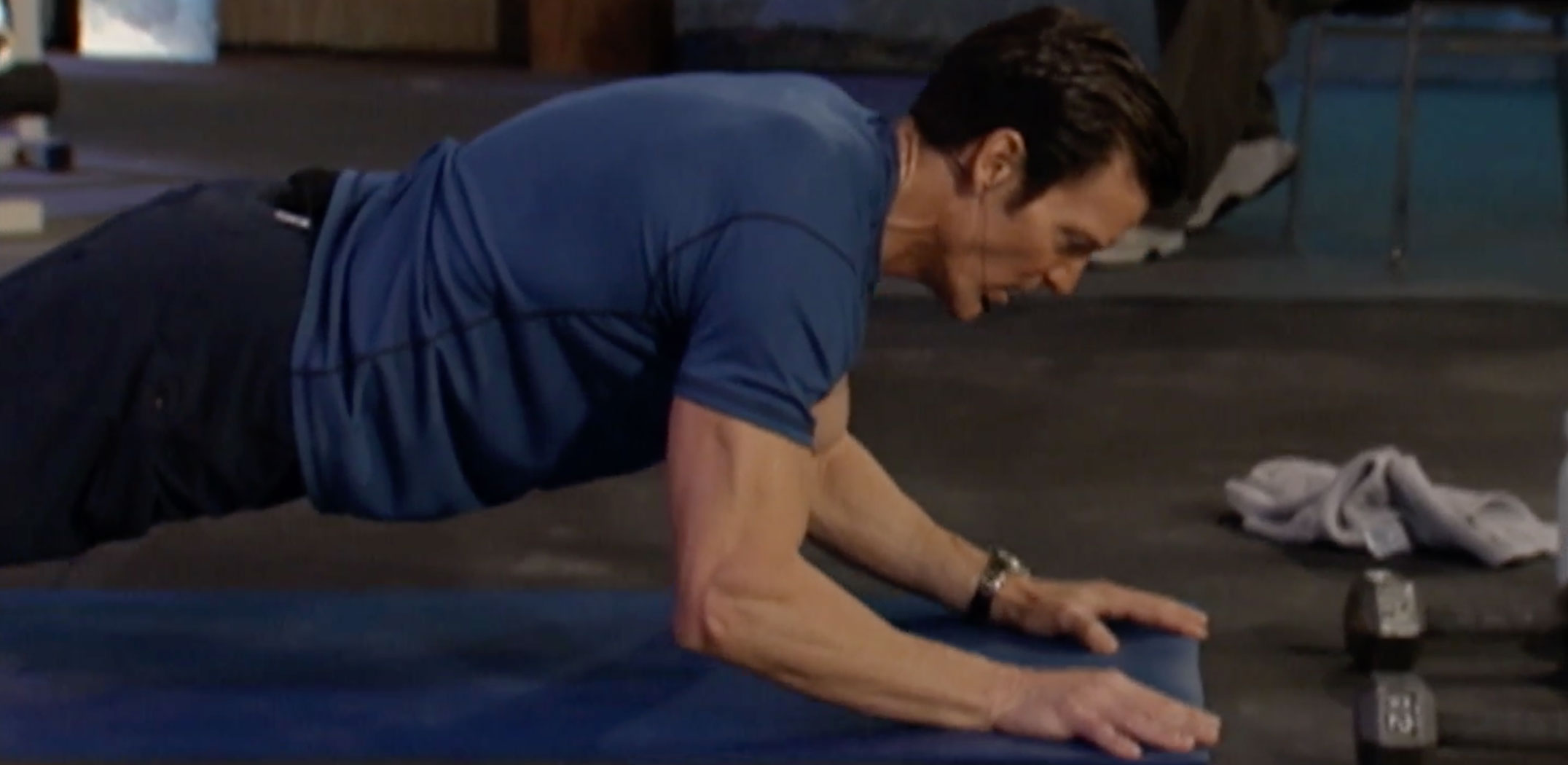 sphinx push-up | tony horton | p90x core synergistics