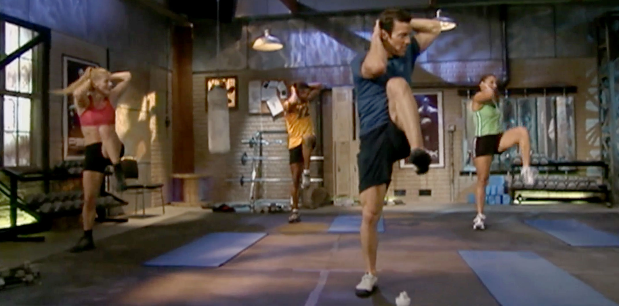 steam engine | tony horton | p90x core synergistics