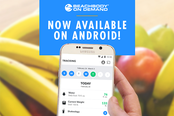 Beachbody Nutrition App on Android
