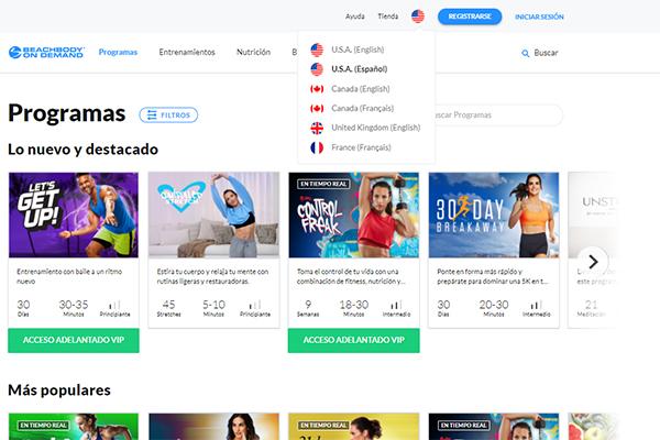 BOD Spanish site