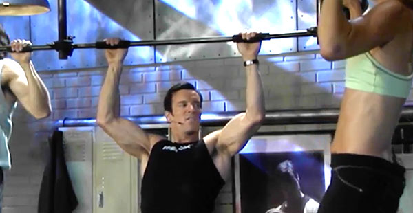 p90x chest and back | tony horton | pull up