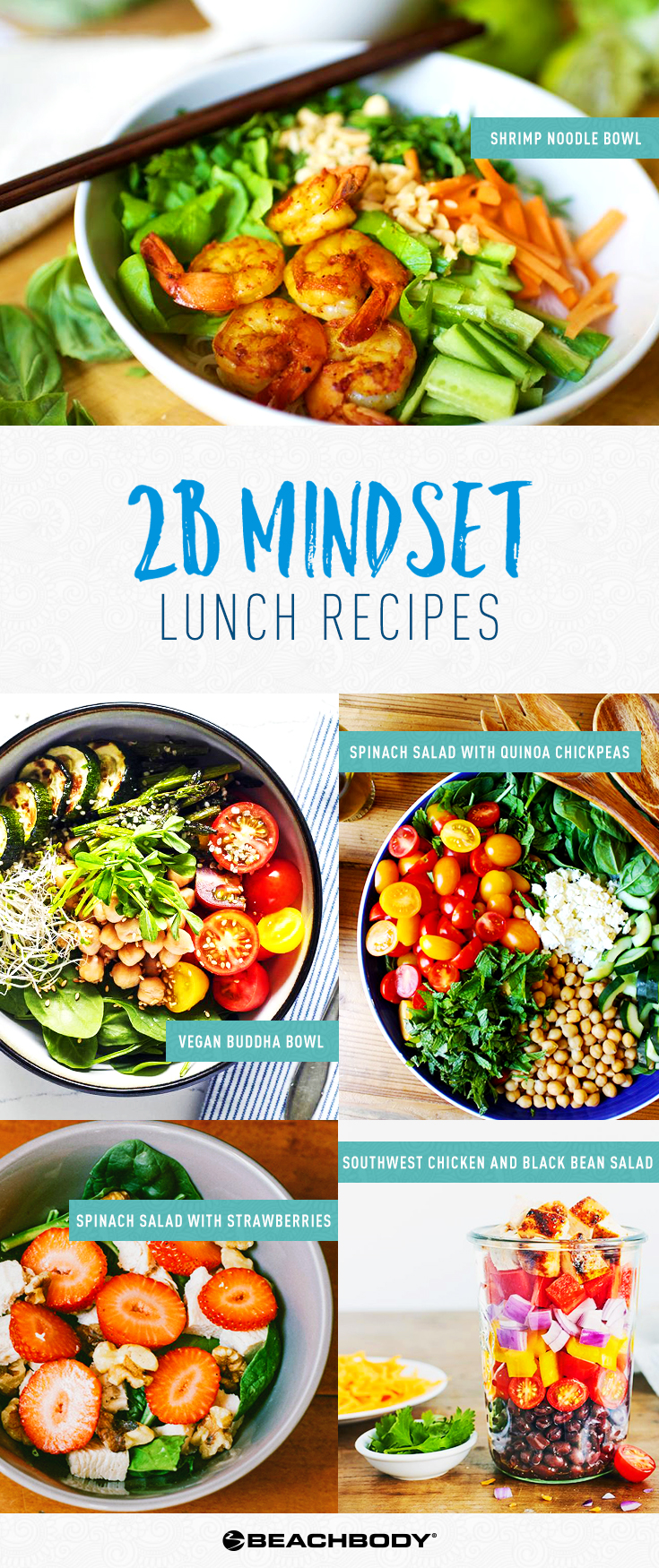 2B Mindset Lunch Recipes