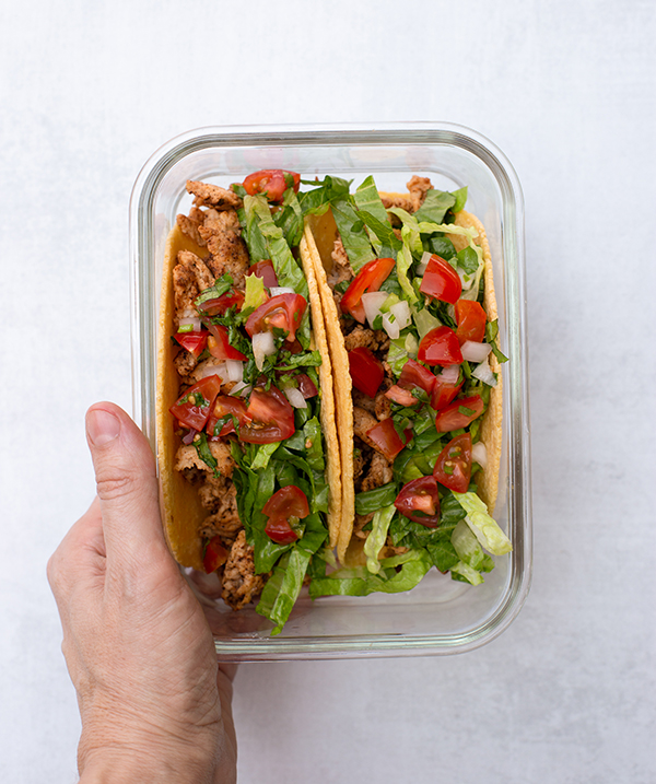 LIIFT4 Meal Prep Turkey Tacos