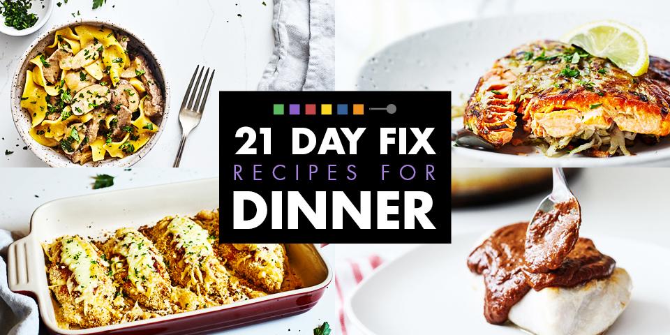 8 Day Fix Dinner Recipes  The Beachbody Blog