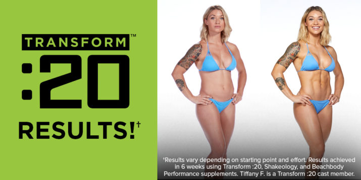 See the Transform :20 Results | The Beachbody Blog