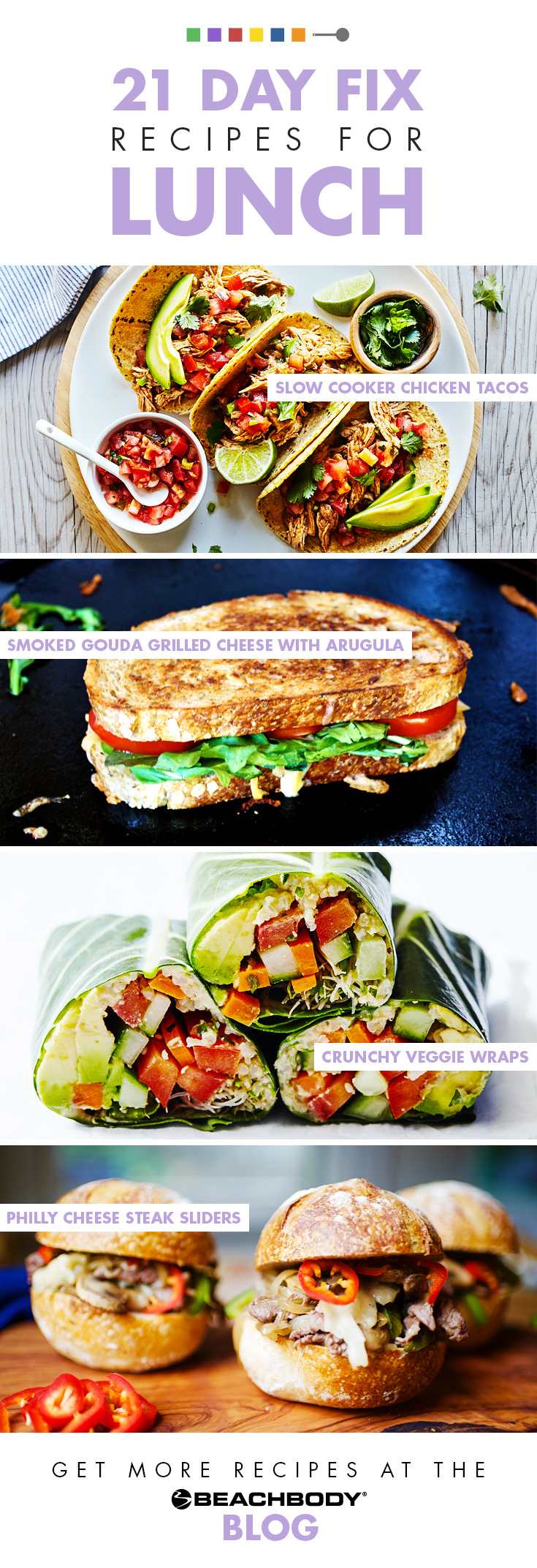 21 Day Fix Recipes for lunch