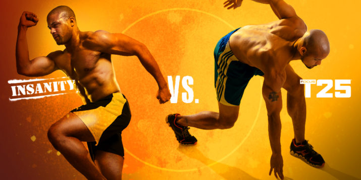 INSANITY vs  T25: Which Workout Should You Do? | The