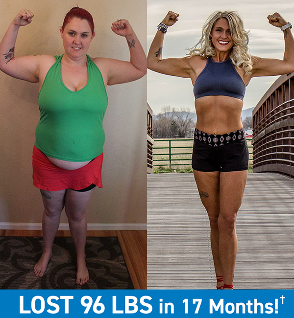 Megan Lost 96 Pounds in 17 months
