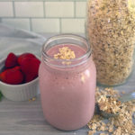 Strawberry Shakeology smoothie