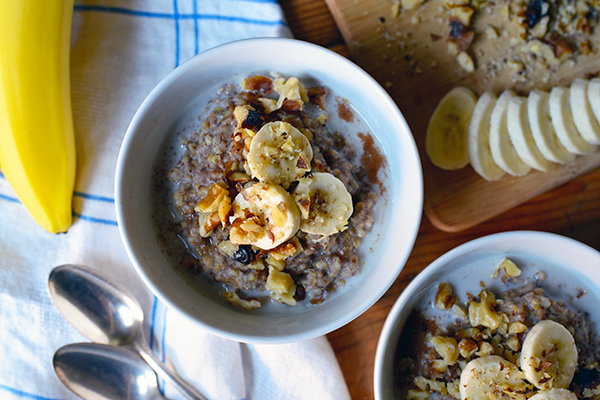 Instant-Pot-Banana-Bread-Oatmeal Recipe