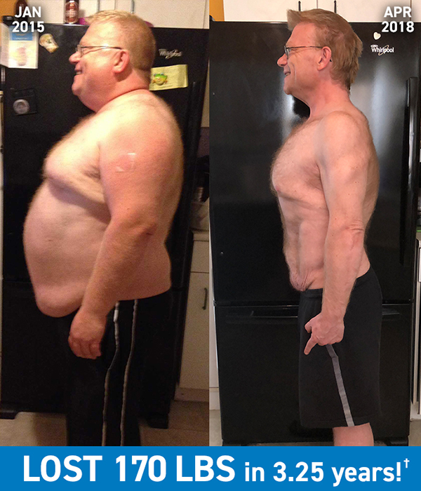 Jefferson Lost 170 Pounds With Beachbody Programs