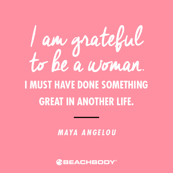 Maya Angelou International Women's Day