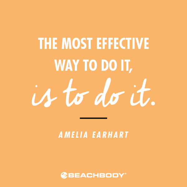 Amelia Earhart quote International Women's Day
