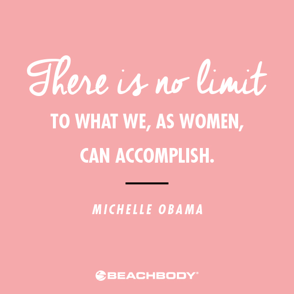 International Women's Day Michelle Obama quote