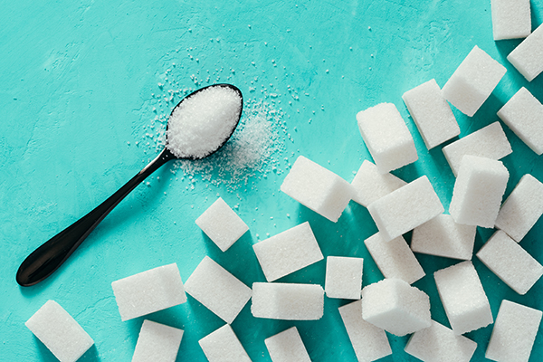 spoon of sugar, sugar cubes