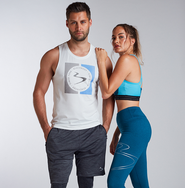 Man, woman wearing Activewear-Essentials