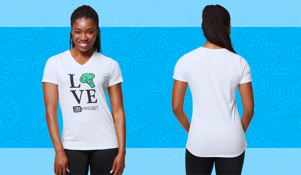 2B Mindset Apparel Broccoli Love T-shirt