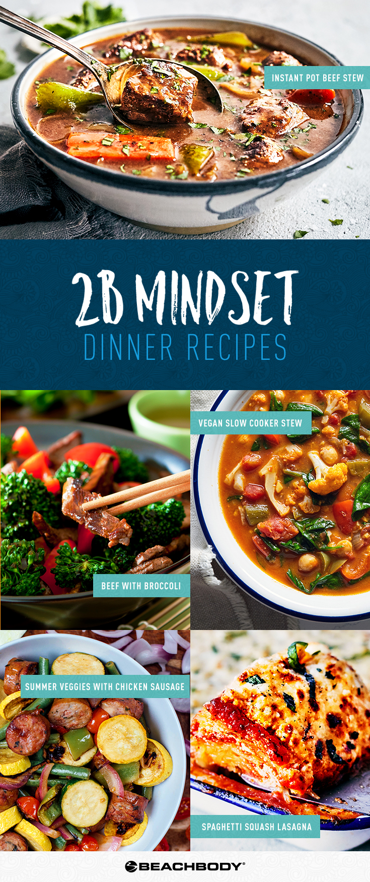 2B Mindset Dinner Recipes