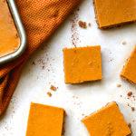 No Bake Pumpkin Pie Squares
