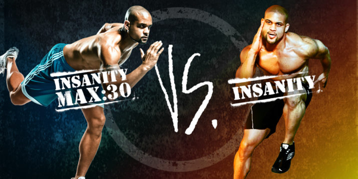 INSANITY vs  INSANITY MAX:30 | The Beachbody Blog