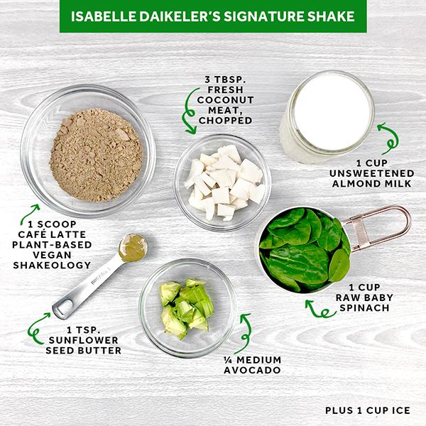 Shakeology shake ingredients