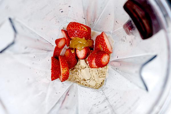 Shakeology intrépido de fresas y crema