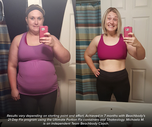 Ultimate Portion Fix Results with 21 Day Fix