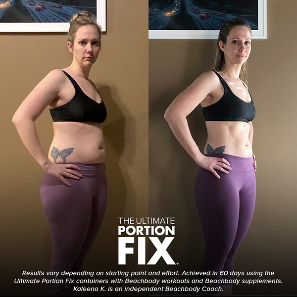 Ultimate Portion Fix Before and After
