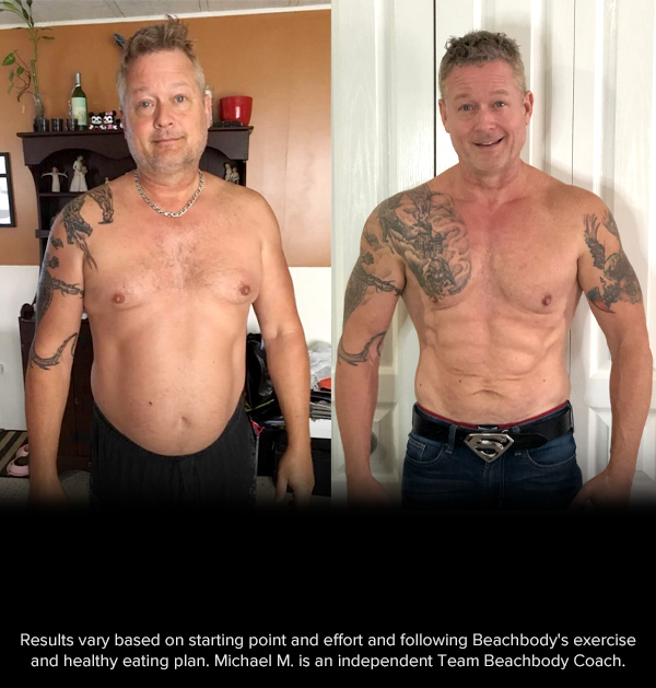 Beachbody Challenge Before and After