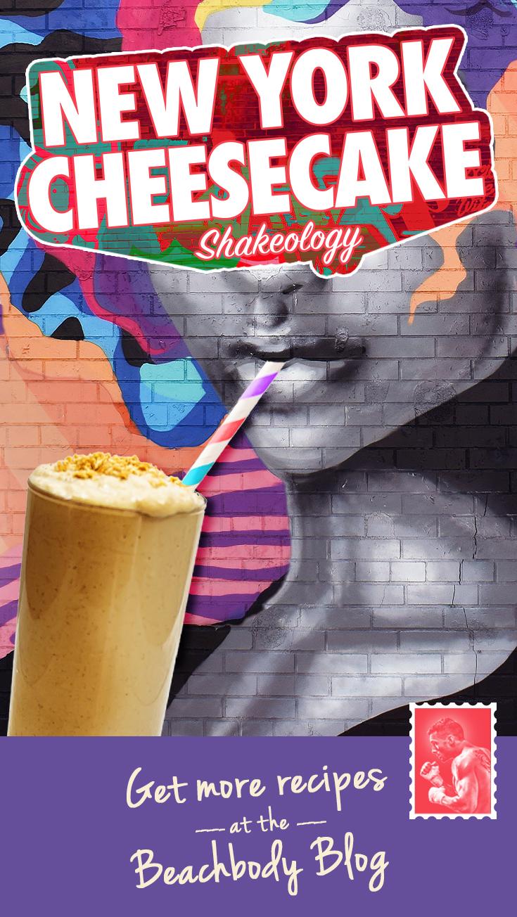 New York Cheesecake Shakeology recipe