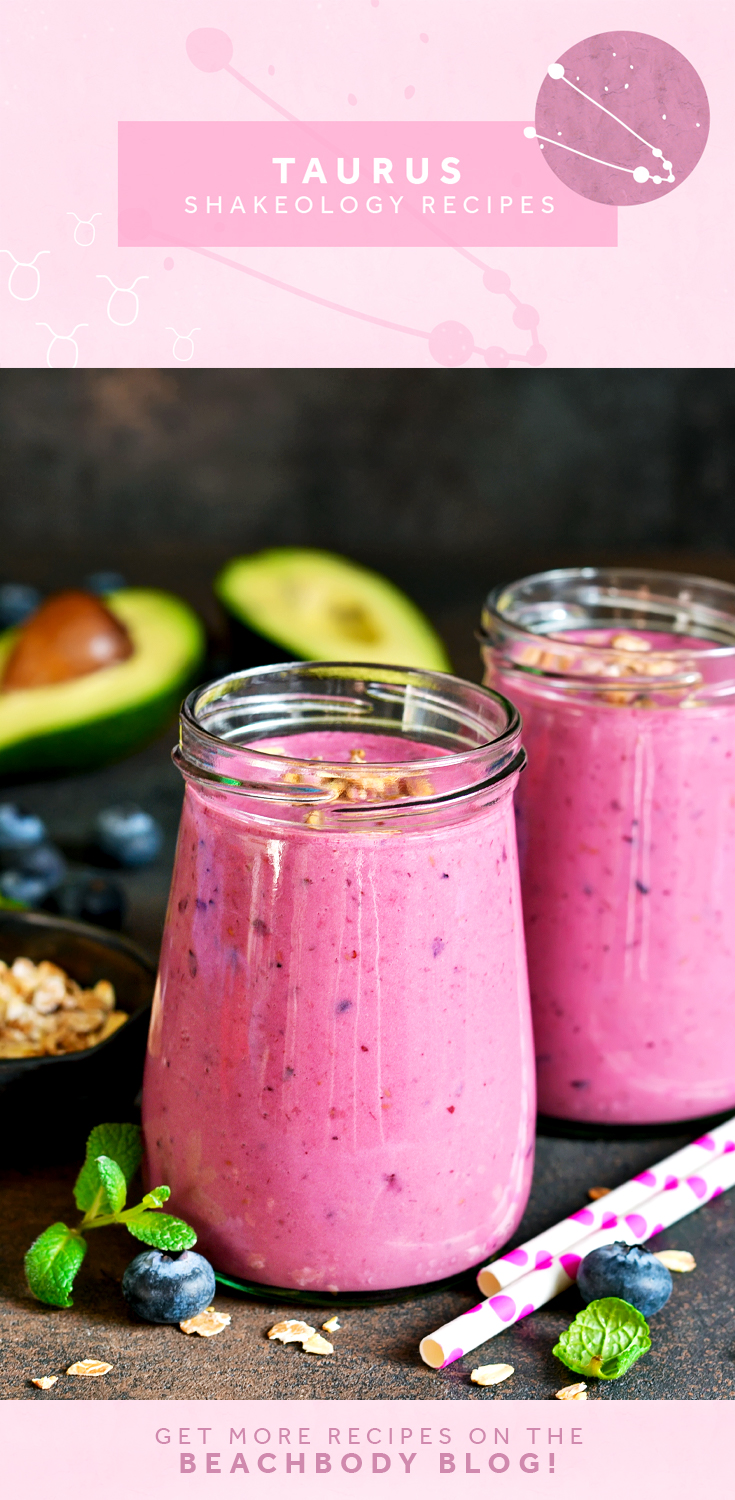 zodiac sign shakeology recipes