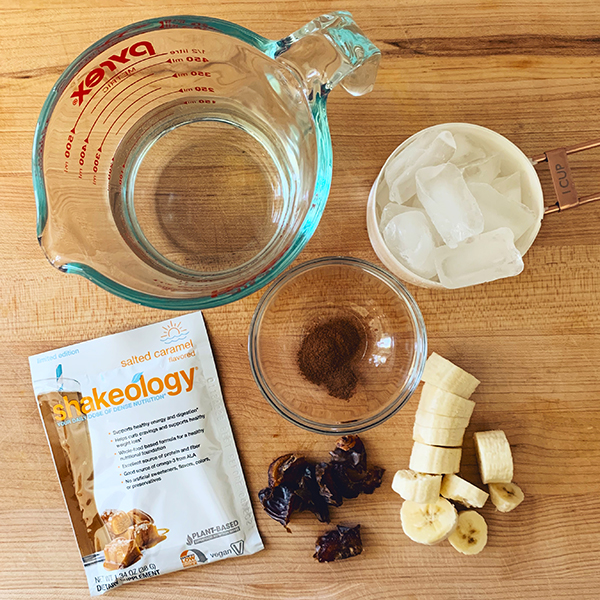 Salted Caramel Shakeology Creme Brulee ingredients