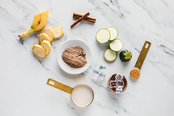 Chocolate Zucchini Bread Shakeology Ingredients
