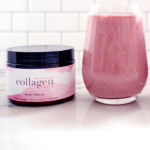 Collagen powder shake