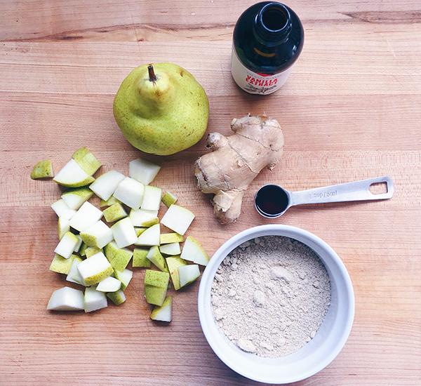 Pear Ginger Vanilla Shakeology ingredients