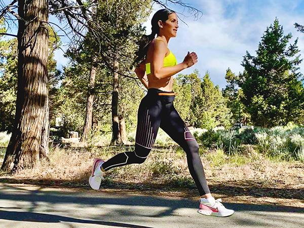 Idalis Velazquez running