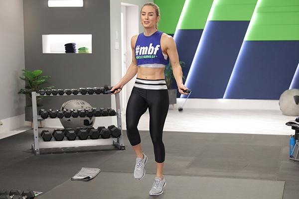 Megan Davies using BOD Rope