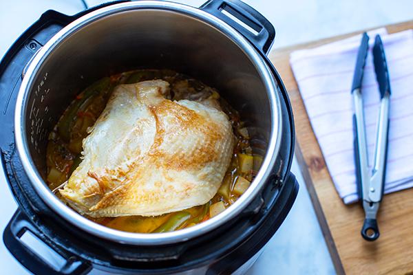 Turkey breast in an Instant Pot