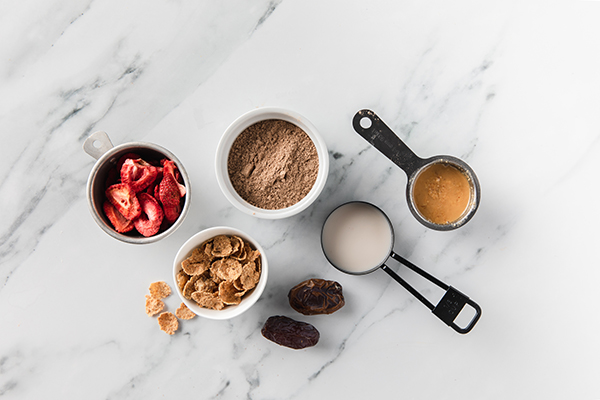 Shakeology Coffee and Cereal Bars ingredients