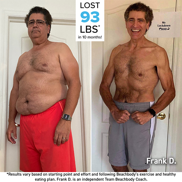 Frank Del Pizzo Before and After photo