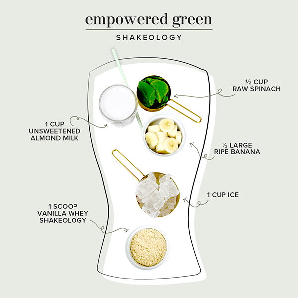 green shakeology ingredients