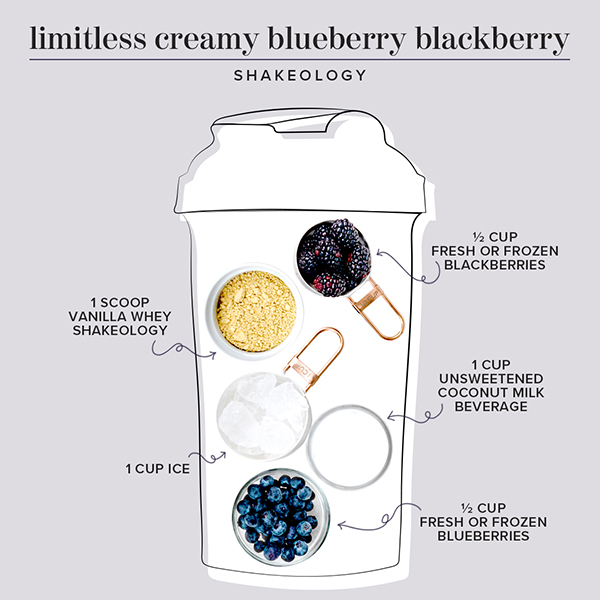 blueberry smoothie ingredients