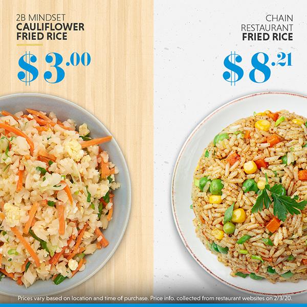 Homemade fried rice vs. restaurant fried rice