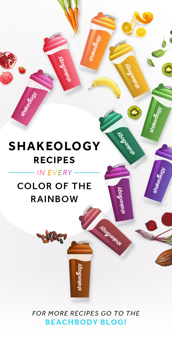 Rainbow Shakeology Recipes