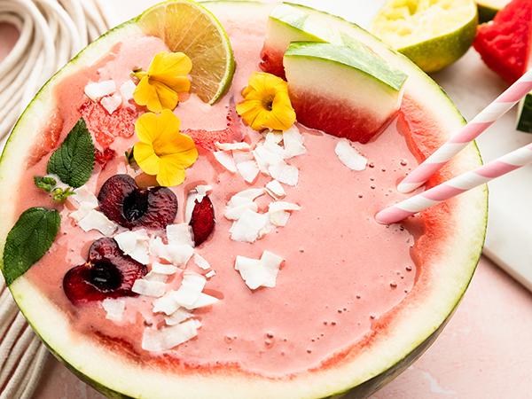 Vanilla Shakeology Watermelon Bowl